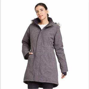 NEW All in Motion Small Parka Coat Jacket Gray